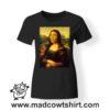 0218 mona cage tshirt nera donna