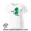 0219 trex crap tshirt bianca donna
