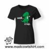 0219 trex crap tshirt nera donna