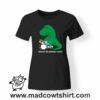 0220 trex drummer tshirt nera donna