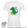 0221 trex dj tshirt bianca uomo