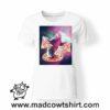 0225 pizza sloth tshirt bianca donna