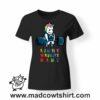 0226 gym unicorn tshirt nera donna