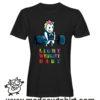 0226 gym unicorn tshirt nera uomo