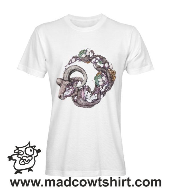 000231 goat skeleton T-shirt Man Woman Child 2