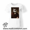 0232 funny cat paint tshirt bianca donna