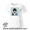 0234 funny monkey paint tshirt bianca donna