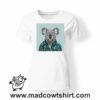 0235 funny koala paint tshirt bianca donna
