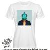 000236 funny chamaleon paint T-shirt Uomo Donna Bambino 5