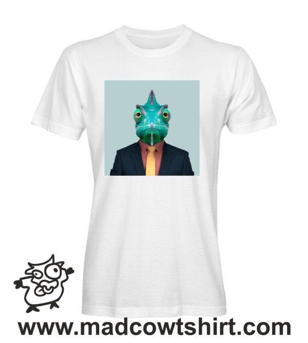 000236 funny chamaleon paint T-shirt Uomo Donna Bambino 1