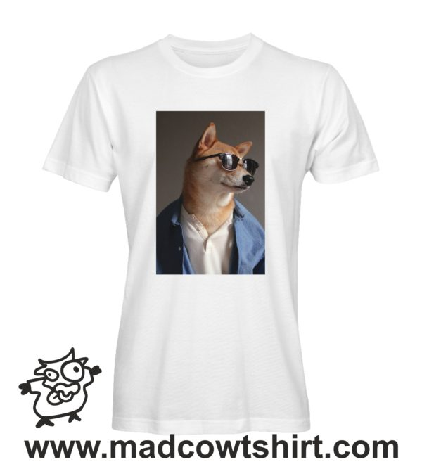 000241 funny shiba paint T-shirt Man Woman Child 2