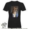 000241 funny shiba paint T-shirt Man Woman Child 5