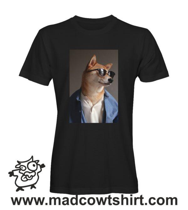 000241 funny shiba paint T-shirt Man Woman Child 1
