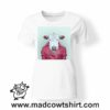 0242 funny cow paint tshirt bianca donna