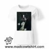 0243 funny french bulldog paint tshirt bianca donna