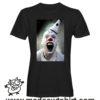 000244 funny monocle french bulldog paint T-shirt Uomo Donna Bambino 6