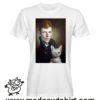 000246 david bowie cat T-shirt Man Woman Child 5