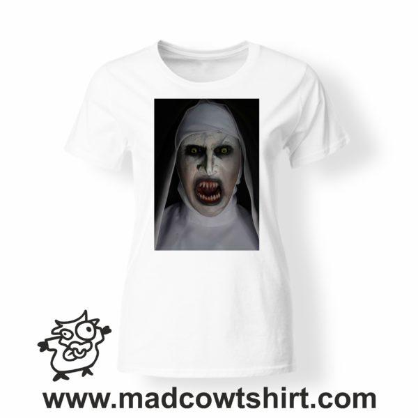 000247 horror nun T-shirt Man Woman Child 4