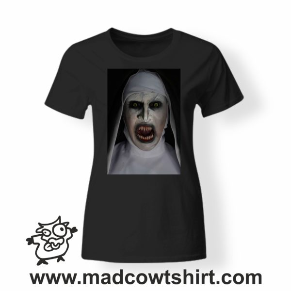 000247 horror nun T-shirt Man Woman Child 3