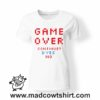 0253 game over tshirt bianca donna