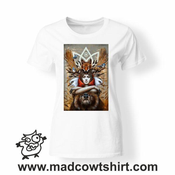000255 animal spirit T-shirt Uomo Donna Bambino 4