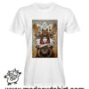 0255 animal spirit tshirt bianca uomo