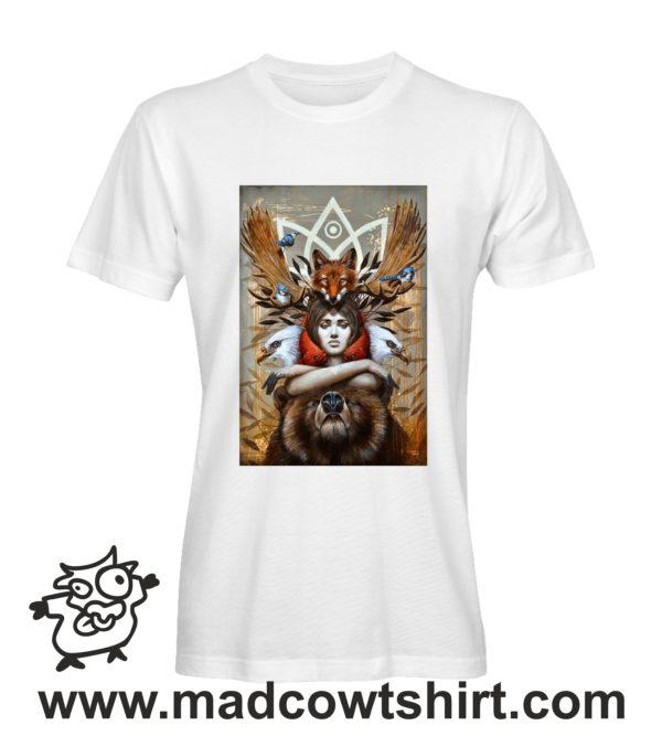 000255 animal spirit T-shirt Uomo Donna Bambino 2