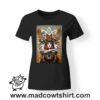 0255 animal spirit tshirt nera donna
