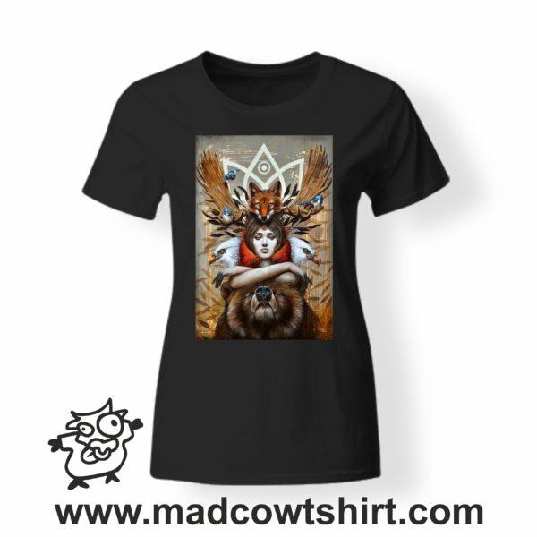 000255 animal spirit T-shirt Uomo Donna Bambino 3