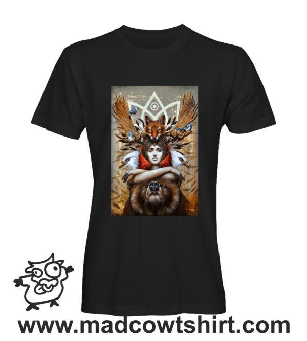 000255 animal spirit T-shirt Uomo Donna Bambino 1