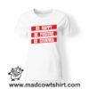 0257 be stemmia tshirt bianca donna