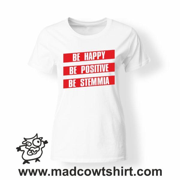 000257 be stemmia T-shirt Uomo Donna Bambino 4