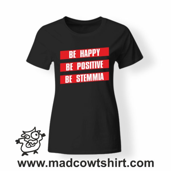 000257 be stemmia T-shirt Uomo Donna Bambino 3