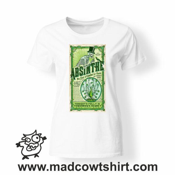 000261 absinthe T-shirt Uomo Donna Bambino 4