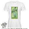 0261 absinthe tshirt bianca uomo