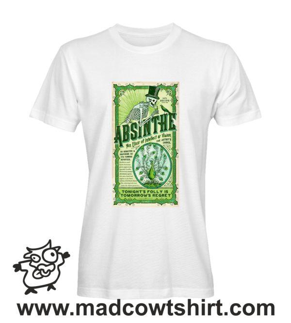 000261 absinthe T-shirt Uomo Donna Bambino 2