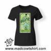 0261 absinthe tshirt nera donna