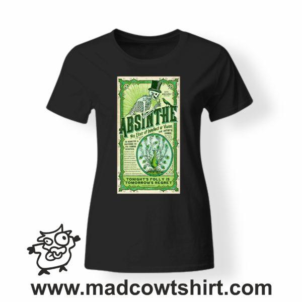 000261 absinthe T-shirt Uomo Donna Bambino 3