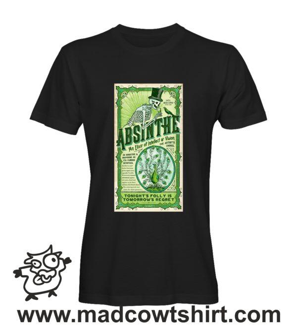 000261 absinthe T-shirt Uomo Donna Bambino 1