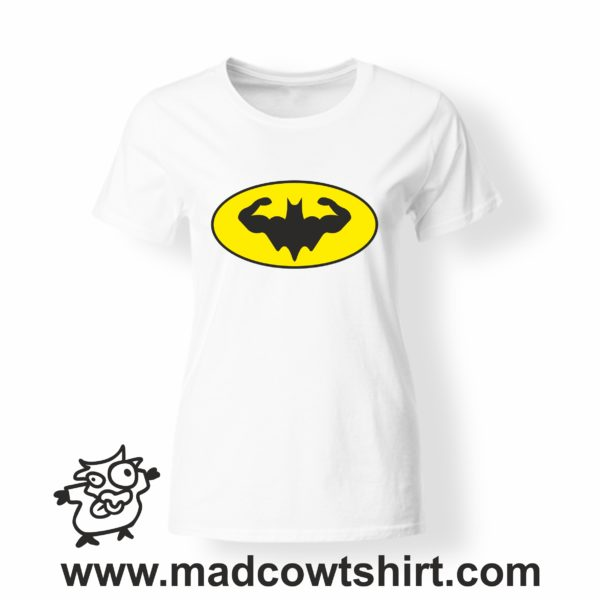 000340 muscle batman T-shirt Uomo Donna Bambino 3