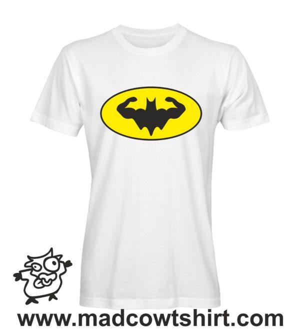 000340 muscle batman T-shirt Uomo Donna Bambino 1