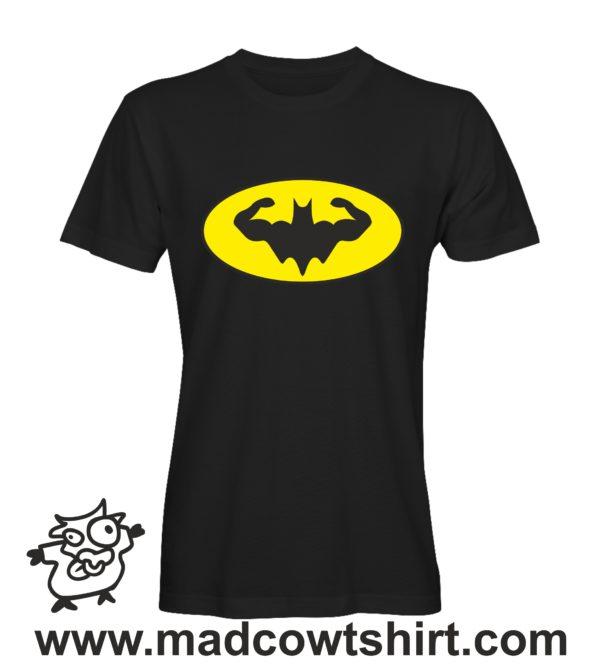 000340 muscle batman T-shirt Uomo Donna Bambino 2