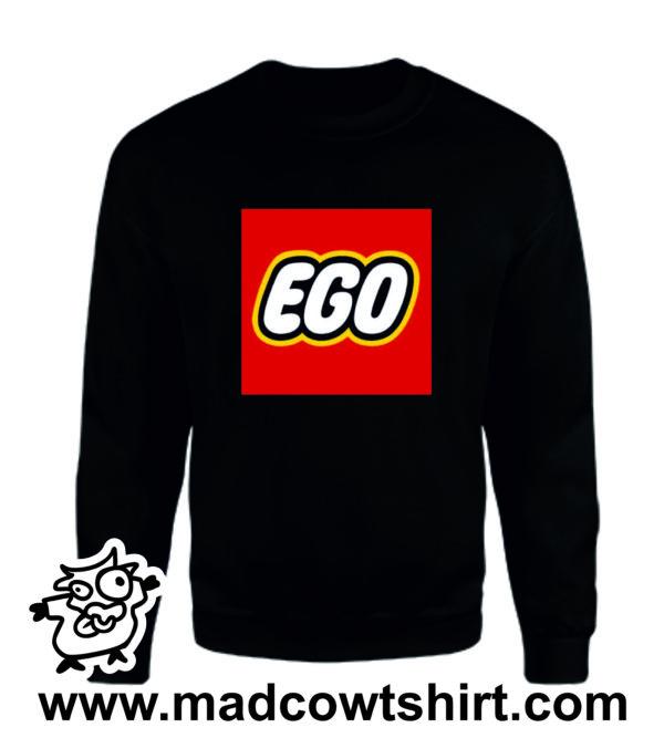 000341 ego Felpa unisex senza o con cappuccio 3