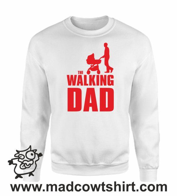 000349 walking dad Unisex Sweatshirt or Hoodie 4