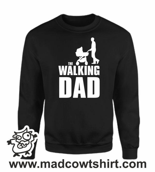 000349 walking dad Unisex Sweatshirt or Hoodie 3