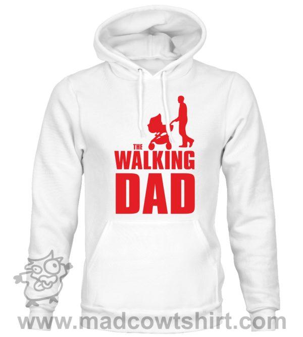 000349 walking dad Unisex Sweatshirt or Hoodie 2