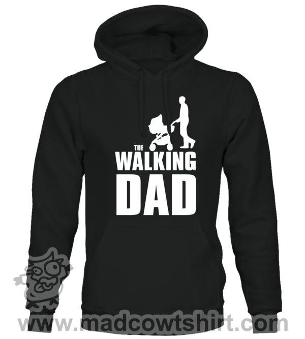 000349 walking dad Unisex Sweatshirt or Hoodie 1
