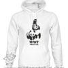 000351 wwf wrestling Felpa unisex senza o con cappuccio 5