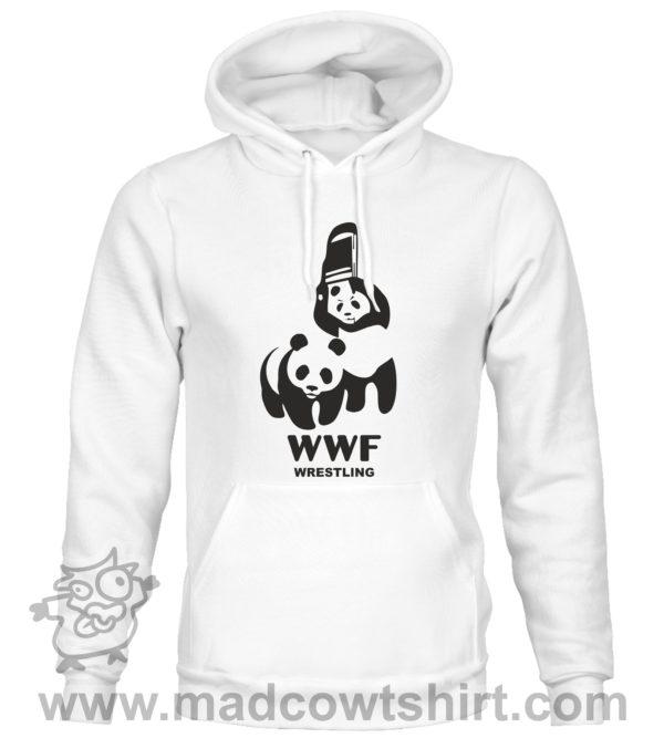 000351 wwf wrestling Felpa unisex senza o con cappuccio 2