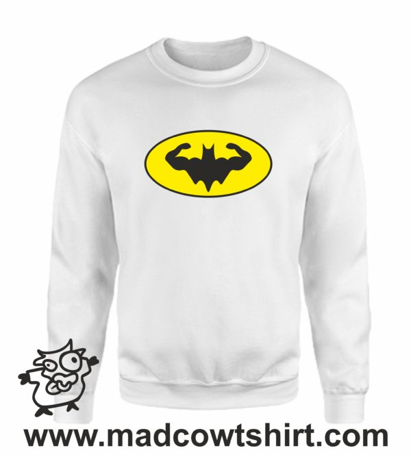 000353 muscle batman Unisex Sweatshirt or Hoodie 4